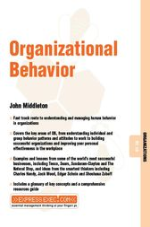 Organizational Behavior by John Middleton