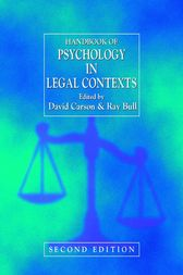 Handbook of Psychology in Legal Contexts by David Carson