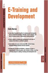 E-Training and Development by Colin Barrow
