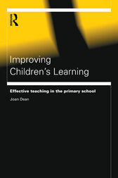 Improving Children's Learning by Joan Dean