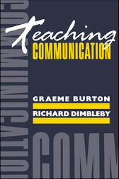 Teaching Communication by Graeme Burton