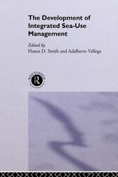 Development of Integrated Sea Use Management by Hance Smith