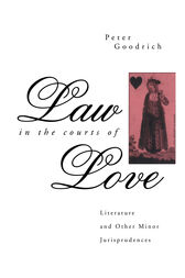 Law in the Courts of Love by Peter Goodrich