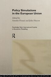 Policy Simulations in the European Union by Amedeo Fossati