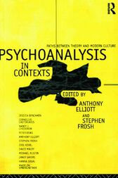 Psychoanalysis in Context by Anthony Elliott