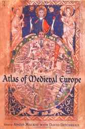 Atlas of Medieval Europe by David Ditchburn