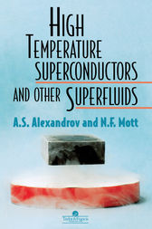 High Temperature Superconductors And Other Superfluids by A S Alexandrov
