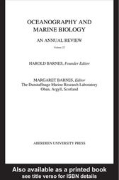 Oceanography and Marine Biology, An Annual Review, Volume 22 by Harold Barnes