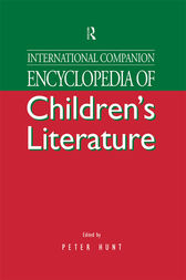 International Companion Encyclopaedia of Children's Literature