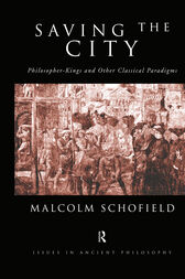 Saving the City by Malcolm Schofield
