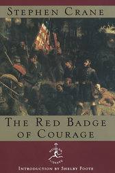 a critique of war doctrine in stephen cranes the red badge of courage The red badge of courage by stephen crane follow the trials and tribulations of henry fleming, a recruit in the american civil war in this impressionistic novel by american writer stephen crane.