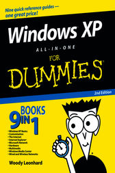 Windows XP All-in-One Desk Reference For Dummies by Woody Leonhard
