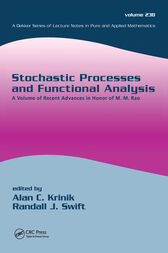 Stochastic Processes and Functional Analysis by Alan C. Krinik