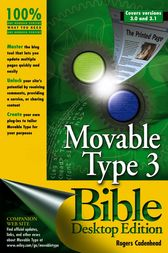Movable Type 3 Bible by Rogers Cadenhead