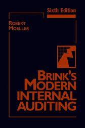 Brink's Modern Internal Auditing by Robert R. Moeller