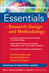 Essentials of Research Design and Methodology, CafeScribe by Geoffrey R. Marczyk