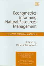 Econometrics Informing Natural Resources Management: Selected Empirical Analyses