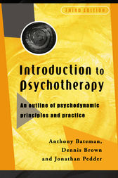Introduction to Psychotherapy by Dr Anthony Bateman