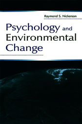 Psychology and Environmental Change