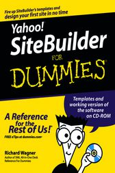 Yahoo! SiteBuilder For Dummies by Richard Wagner
