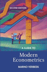 A Guide to Modern Econometrics by Marno Verbeek