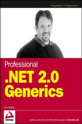 Professional .NET 2.0 Generics by Tod Golding