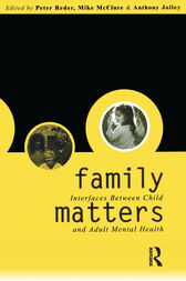 Family Matters by Peter Reder