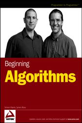 Beginning Algorithms by Simon Harris