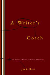 A Writer's Coach by Jack R. Hart