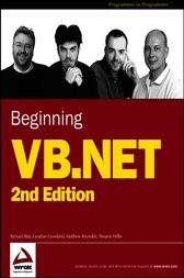Beginning VB.NET by Richard Blair