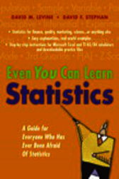 Even You Can Learn Statistics by David M. Levine