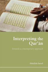 Interpreting the Qur'an by Abdullah Saeed