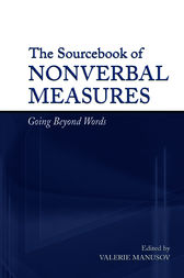 The Sourcebook of Nonverbal Measures by Valerie Lynn Manusov