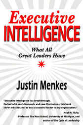 Executive Intelligence by Justin Menkes