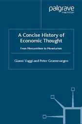 A Concise History of Economic Thought by Gianni Vaggi