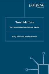 Trust Matters by Sally Bibb