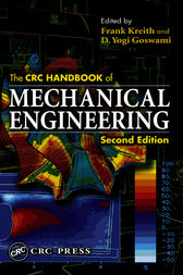 The CRC Handbook of Mechanical Engineering,  Second Edition by D. Yogi Goswami