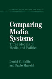 Comparing Media Systems by Daniel C. Hallin