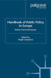 Handbook of Public Policy in Europe by Hugh Compston