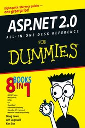 ASP.NET 2.0 All-In-One Desk Reference For Dummies by Lowe;  Ken Cox;  Jeff Cogswell