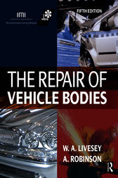 The Repair of Vehicle Bodies by Andrew Livesey