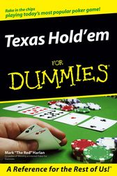 Texas Hold'em For Dummies by Mark Harlan