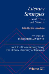 Studies in Contemporary Jewry, Volume XII