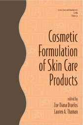 Cosmetic Formulation of Skin Care Products