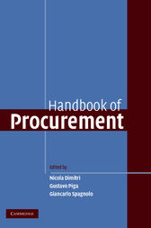 Handbook of Procurement by Nicola Dimitri