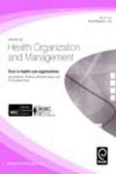 Trust in Health Care Organizations, Volume 20, Issue 5
