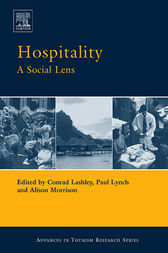 Hospitality: A Social Lens by Paul Lynch