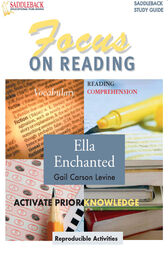 Ella Enchanted Reading Guide by Lisa French