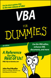 VBA For Dummies by John Paul Mueller