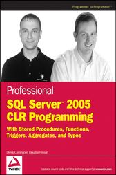 Professional SQL Server 2005 CLR Programming